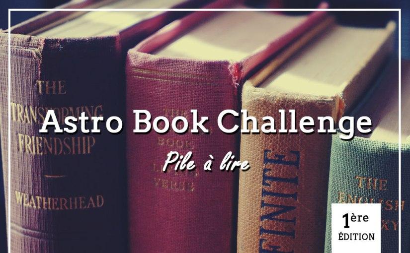 Astro Book Challenge 2020 : pile àlire